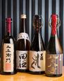 ワインはもちろん・・本格焼酎や日本酒も多数取り揃えております♪