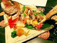 お祝い事には祝い鯛をご用意致します。