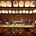 ずらりと並んだ提灯が目印の当店!活気あふれる店内ですがどこか落ち着ける雰囲気となっています。日本酒利き酒飲み放題付き宴会コースは月替わり。日本酒は50銘柄以上常備。夜のご宴会だけでなく昼宴会にもご利用いただけます。詳しくは店舗までお問い合わせ下さい。
