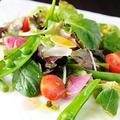 料理メニュー写真色とりどりの菜園サラダ
