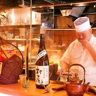 某有名ホテルの総料理長を務めていた和食歴35年の料理長