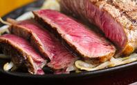 牛赤身ステーキも食べ放題です★