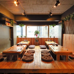 広々とした空間でゆったりとお食事を楽しむことができます♪