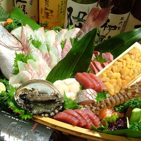 新鮮な活魚ならお任せ!!旨い魚・旨い酒は松屋へ☆宴会場もあり!!歓送迎会に最適!