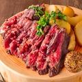 料理メニュー写真牛ハラミ肉のグリル