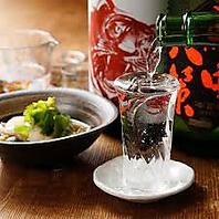 日本酒・焼酎のとりそろえ