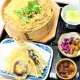 江戸の郷土料理の1つ深川めしをランチで堪能できます!あさりの旨味を味わいください。お昼から贅沢なひと時を。