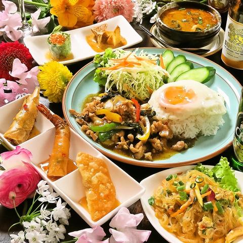 神戸三宮で本格タイ料理が気軽に楽しめる♪