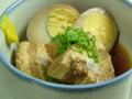 料理メニュー写真コラーゲン豚の角煮