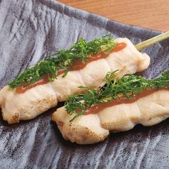 鶏ささみ串〈梅しそ・わさび〉