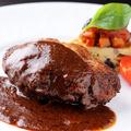 料理メニュー写真ハンバーグステーキ(150g)