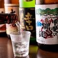 地酒・日本酒がの種類が豊富★珍しいお酒なども数多く取り揃えております♪
