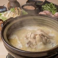 伝統ある専門店の水炊き鍋