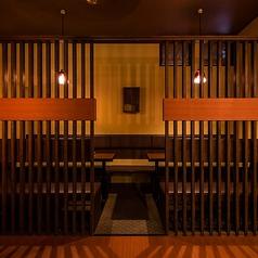 【半個室席】プライベート宴会や少人数宴会に最適!【こちらの席は禁煙席となります。】