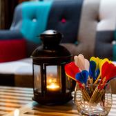 2名様からご利用可能な完全個室をご用意。個室でのお食事に◎ダーツを完備している店内はモダンな雰囲気な個室席