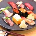料理メニュー写真握り寿司 十貫 【特上】