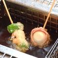 串カツ&アラカルト、60種以上の食べ放題!