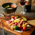 料理メニュー写真◆3色チーズソースのメリメロチーズフォンデュ(1人前)