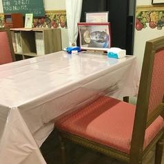 2名様 南テーブル