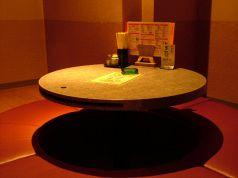 ひっぱり多古人気の円卓の個室