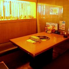 テーブル席は2名様~ご利用OK!