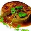 料理メニュー写真フォアグラのソテー &リゾット 赤味噌とバルサミコのソースで濃厚な1皿