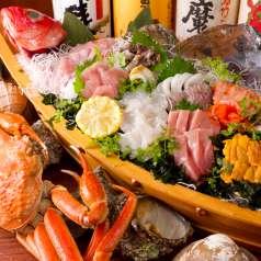 隠れ海鮮居酒屋 魚京助 新橋駅前店の特集写真
