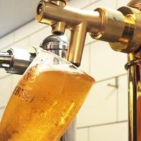 生ビールはプレミアムビールの<ヱビス>!