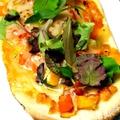 料理メニュー写真野菜のピザ