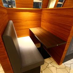 2名様用のカップルシートのお席もございます。