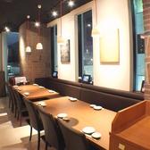 オシャレな店内でのお食事をお楽しみ下さい【新宿でお食事処、宴会を実施するお店をお探しなら北海道へ】