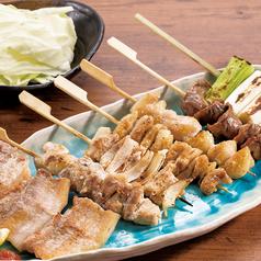 料理メニュー写真串焼き5種盛り / 串焼き7種盛り