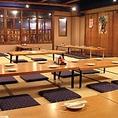 120名様対応の座敷席や最大14名対応の函館魚市場内の食堂をイメージした席など様々なシーンに対応できる席をご用意しています!