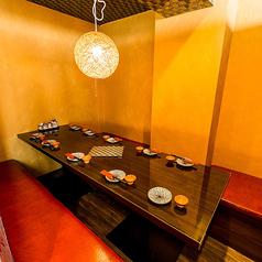 完全個室 創作和食 虎の尾 Toranoo 東京駅店の雰囲気1