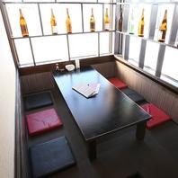 個室席は全14部屋★用途に合わせてご利用いただけます!