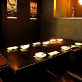 【1階】掘りごたつ席/テーブル席/カウンターを完備!