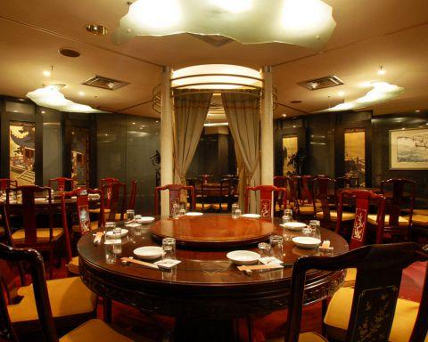 10~40名までOKの円卓席付きの個室あり!接待やから会社宴会まで幅広くご利用可能です