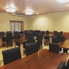 1階のお席は2名様~最大36名様までご利用いただけます。