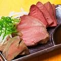 料理メニュー写真肉刺し3種盛り合わせ
