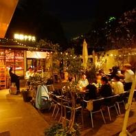 雰囲気抜群のおしゃれカフェ★夜はまた違った雰囲気に…