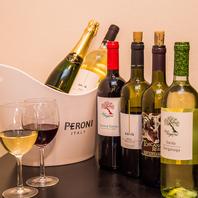 日本酒、焼酎、ワイン、ビール…お酒の種類が豊富です!