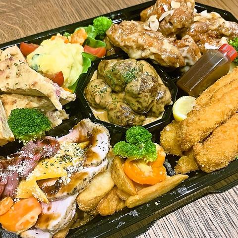 【TAKE OUT MENU】THENARUTOBASEの料理をお家で味わえる!!電話予約、NET予約受付中♪