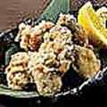 料理メニュー写真牡蠣の唐揚 四ヶ