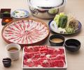 料理メニュー写真【お肉の質で勝負】牛&豚しゃぶしゃぶ 食べ放題