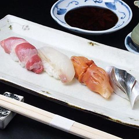 斬れ味の良い、究極の(旨い)「にぎりずし」を楽しめる恵比寿『鮨二斬』