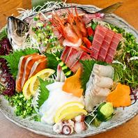 厳選した鮮魚を使用し、季節の旬をご提供!