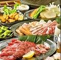 料理メニュー写真BBQ焼き肉セット