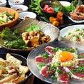 お手軽にとんぺら屋の自慢の料理を楽しめるコースも大人気。名物のとんぺら焼きや、国産鴨を味わえる各種コースあります!