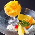 料理メニュー写真スノーアイス マンゴー
