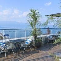 琵琶湖が一望できるテラスでランチ・ディナー・カフェ♪